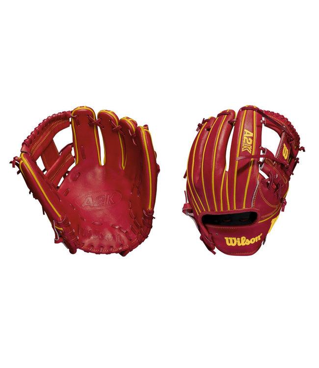 "WILSON Gant de Baseball A2K Ozzie Albies Game Model 11.5"""