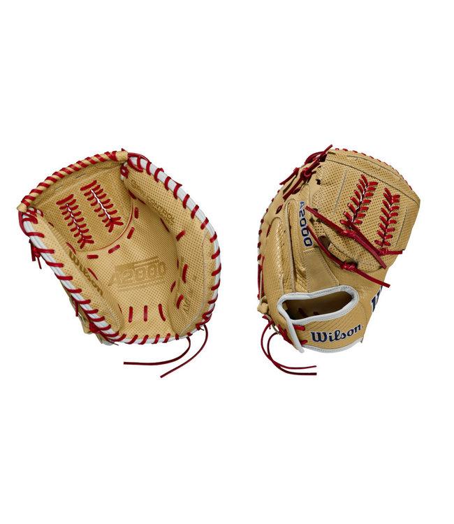"""WILSON A2000 Aubree Munro Game Model 34"""" Fastpitch Catcher's Glove"""
