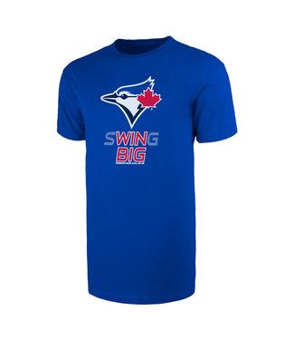 47BRAND T-Shirt pour Enfants MLB Swing Big Super des Blue Jays de Toronto