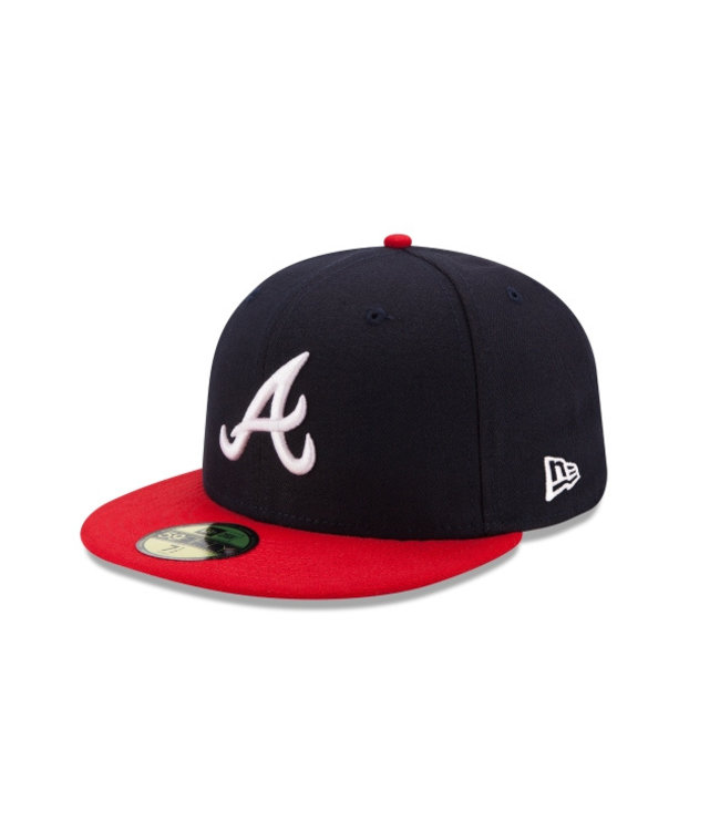 NEW ERA Casquette Authentique Home des Braves d'Atlanta