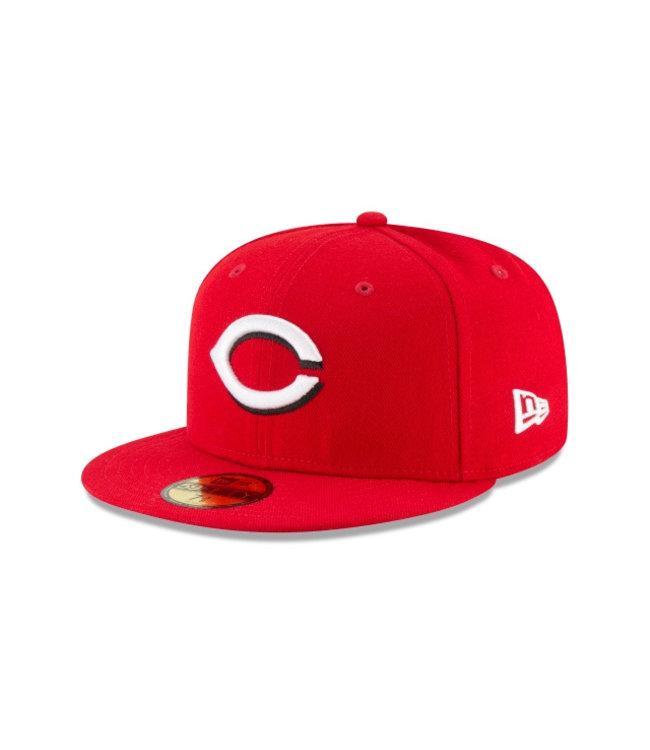 NEW ERA Casquette Authentique Home des Reds de Cincinnati