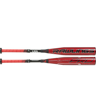 "RAWLINGS Quatro Pro Comp 2 5/8"" USA Baseball Bat (-12)"
