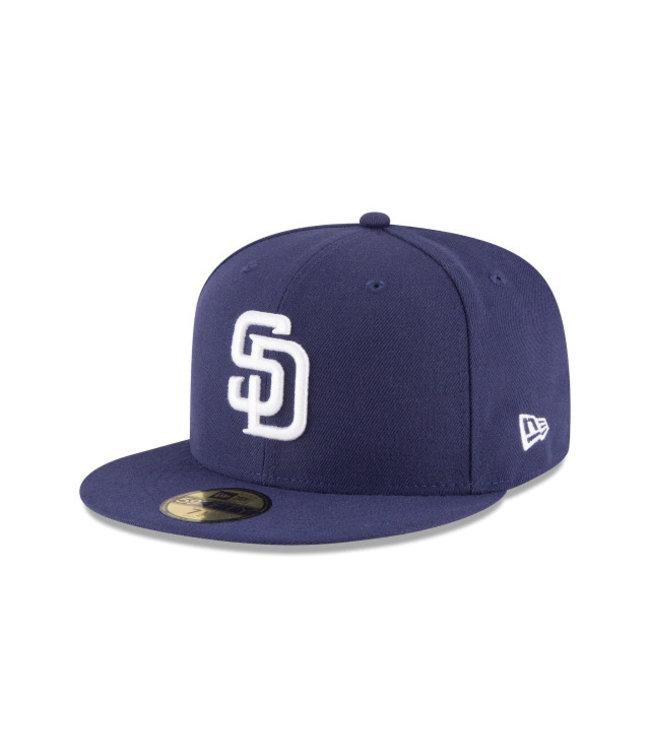 NEW ERA Casquette Authentique Home des Padres de San Diego