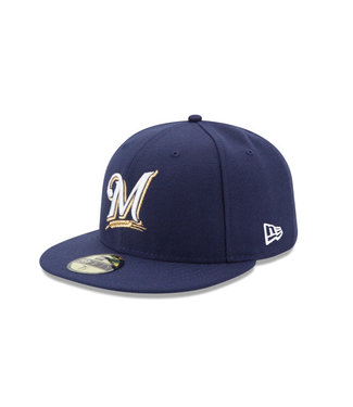 NEW ERA Authentic Milwaukee Brewers Game Cap