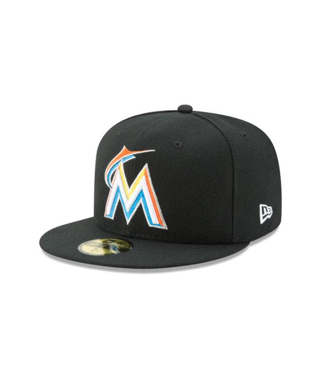 NEW ERA Authentic Miami Marlins Home Cap