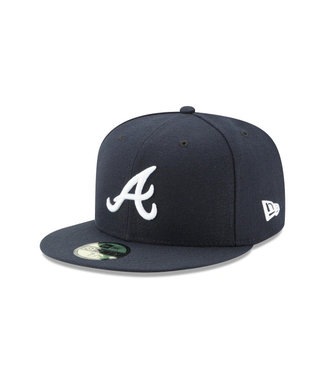 NEW ERA Authentic Atlanta Braves Road Cap