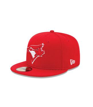 NEW ERA Casquette 59fifty Rouge des Blue Jays de Toronto