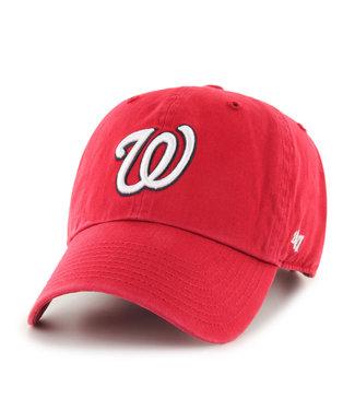 47BRAND MLB Clean-Up Washington Nationals Cap