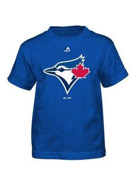 OUTERSTUFF Toronto blue jays team logo youth tee
