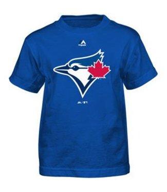 MAJESTIC Toronto blue jays team logo youth tee