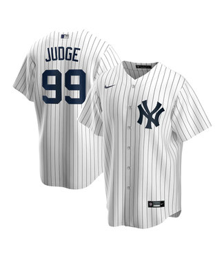 Nike Aaron Judge New York Yankees Youth Replica White Jersey