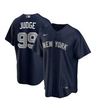 Nike Chemise Réplique Junior Aaron Judge Bleu Marin des Yankees de New York