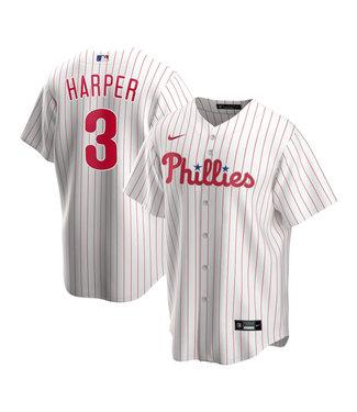 Nike Chemise Réplique Junior Bryce Harper Blanc des Phillies de Philadelphie