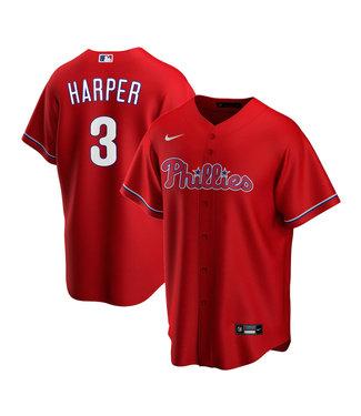 Nike Chemise Réplique Junior Bryce Harper Rouge des Phillies de Philadelphie