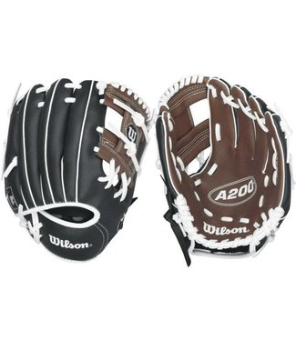 "WILSON A200 9.5"" Youth Baseball Glove"