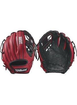 "WILSON Bandit 1786 Pedroia Fit 11.5"" Baseball Glove"