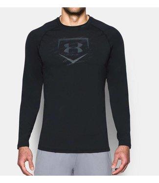 UNDER ARMOUR Baseball Training Men's Long Sleeve Shirt