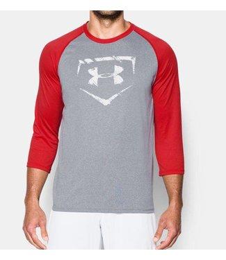 UNDER ARMOUR Baseball 3/4 Sleeve Men's Shirt