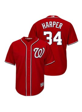 MAJESTIC B. Harper Youth Replica Jersey