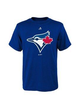 MAJESTIC Toronto blue jays primary logo kids tee