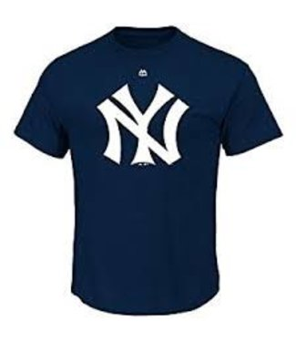 MAJESTIC Yankees Cooperstown Official Logo Shirt