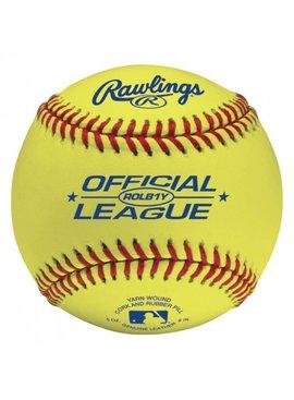 RAWLINGS ROLB1Y Baseball Ball (Un)