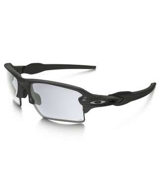 OAKLEY Flak 2.0 XL Steel w/ Clear to Black Iridium Photochromic