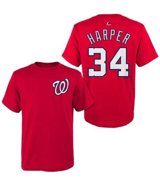 MAJESTIC T-SHIRT HARPER WASHINGTON NATIONALS