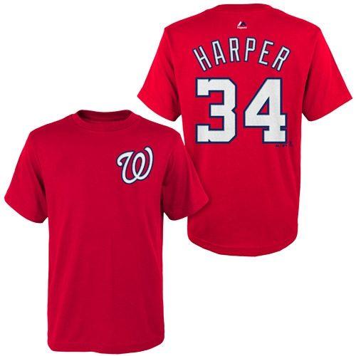 771cd7d76fb T-SHIRT HARPER WASHINGTON NATIONALS - Baseball Town