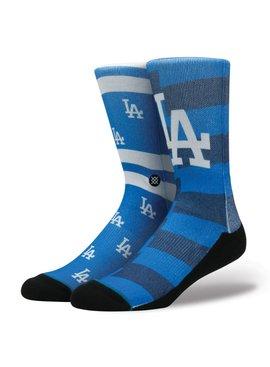 Stance MLB DODGER SPLATTER BLUE