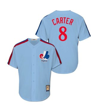 MAJESTIC Gary Carter Cooperstown Men's Jersey