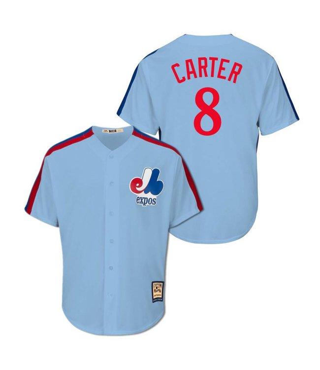 wholesale dealer 63e03 beee8 MAJESTIC Gary Carter Cooperstown Men's Jersey