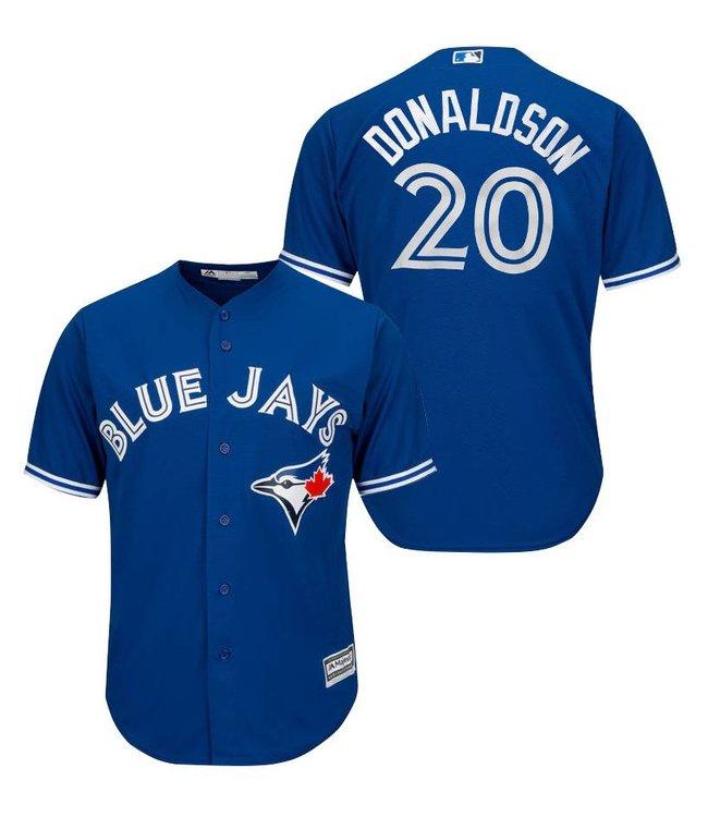 low priced a2c57 b5fa0 MAJESTIC Josh Donaldson Toronto Blue Jays Men's Replica Jersey