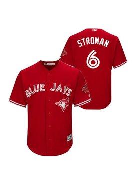 MAJESTIC Marcus Stroman Toronto Blue Jays Men's Replica Jersey