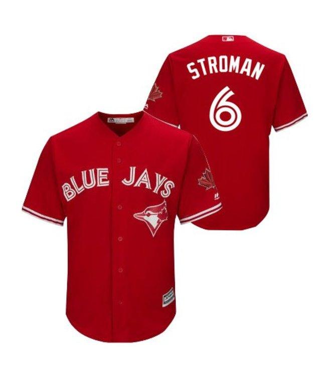 buy online 771f4 ab710 MAJESTIC Marcus Stroman Toronto Blue Jays Men's Replica Jersey