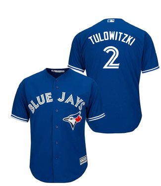 MAJESTIC Troy Tulowitzki Toronto Blue Jays Men's Replica Jersey