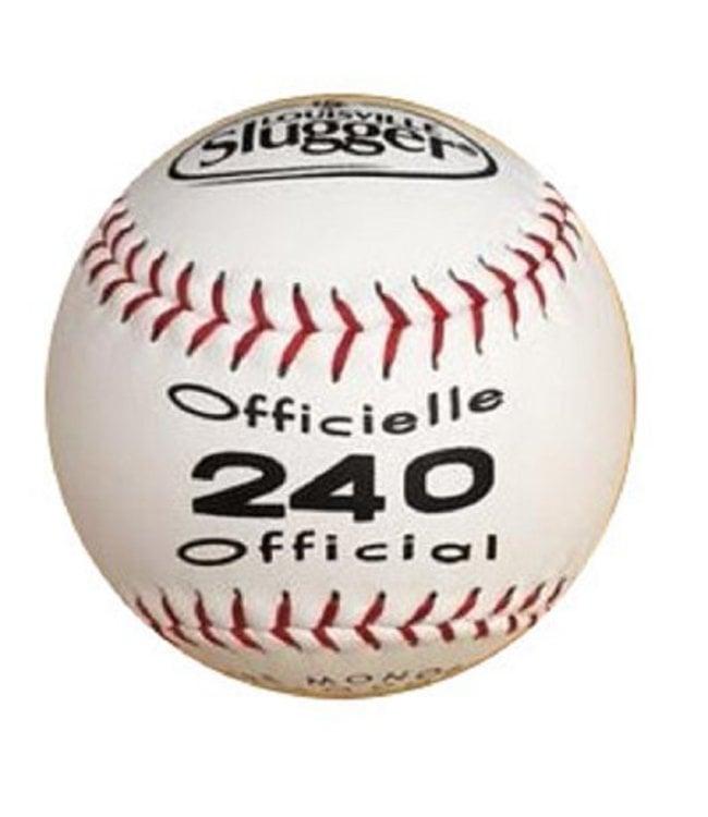 LOUISVILLE SLUGGER Balle de Softball 240 (UN)