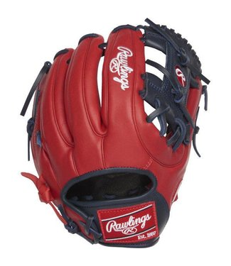 "RAWLINGS Rawlings Gamer XLE 11.75"" Baseball Glove Red/Navy Right-Hand Throw"