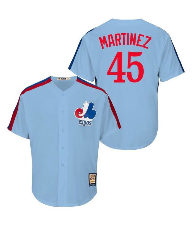 quality design 2a45e 60d86 MAJESTIC Pedro Martinez Cooperstown Men's Jersey