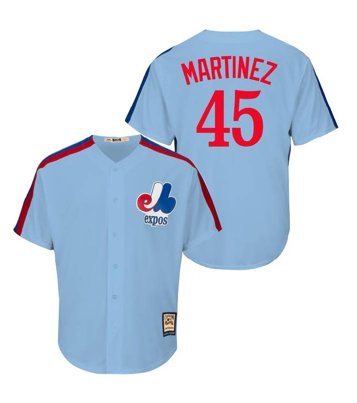 MAJESTIC Pedro Martinez Cooperstown Men s Jersey - Baseball Town 748f5673393