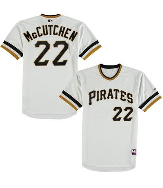 MAJESTIC Pittsburgh Pirates Andrew McCutchen Cooperstown Jersey X-Large