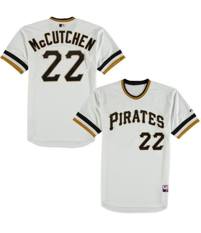 quality design 4fd53 98aa4 MAJESTIC Pittsburgh Pirates Andrew McCutchen Cooperstown Jersey X-Large