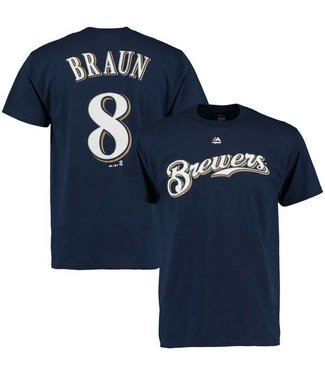 MAJESTIC Milwaukee Brewers Ryan Braun T-Shirt