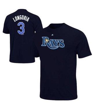 MAJESTIC Tampa Bay Rays Evan Longoria T-Shirt