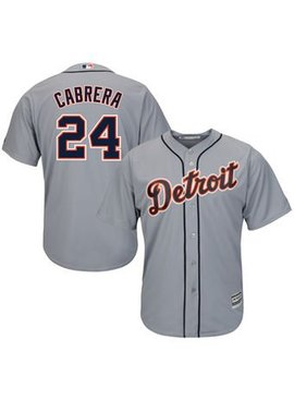 MAJESTIC Detroit Tigers Miguel Cabrera Men's Replica Jersey