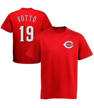 MAJESTIC T-SHIRT VOTTO CINCINNATI REDS