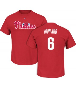 MAJESTIC CHANDAIL R. HOWARD PHILLIES YOUTH LARGE
