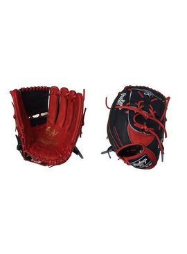 "RAWLINGS HOH Custom Softball Glove 12.5"" Navy/Red Right hand throw"