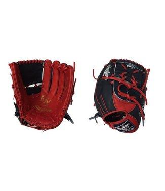 "RAWLINGS HOH Custom Softball Glove 12.5"" Navy/Red Right hand throw"