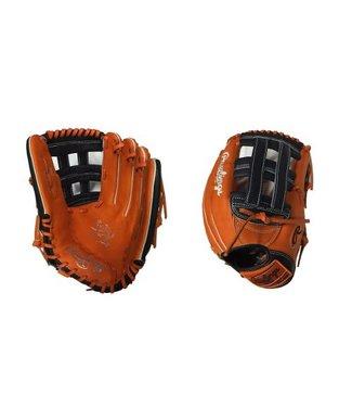 "RAWLINGS Gant de Softball Heart of the Hide Custom 13"" Orange/Bleu Marin"